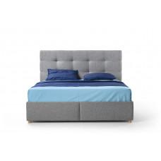 Кровать «БЛАНКО» без подъемного механизма (высокое изголовье)